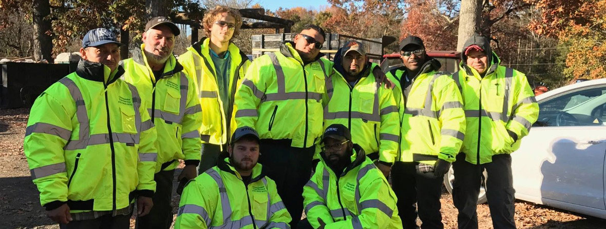 Group of Men in Work Jackets